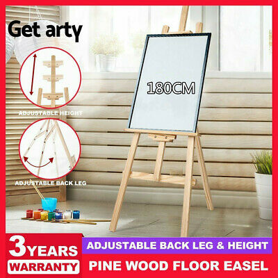Pine Wood Easel Artist Art Display Painting Shop Tripod Stand Wedding 180CM QJ