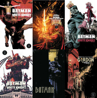 Batman Curse of the White Knight #1 2 & 3 First Print or Variant DC Comics 2019