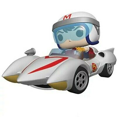 Speed Racer Speed with Mach 5 Pop! Vinyl Vehicle Pre-Order Jan2020