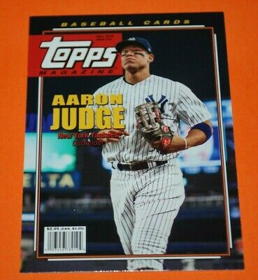 2019 Topps Archives Topps Magazine Inserts TROUT JUDGE GRIFFEY JR. ACUNA DeGROM