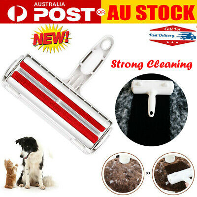Pet Cat Dog Fur Hair Remover Roller Brush Animals Puppy Fur Lint Removal Tool AU