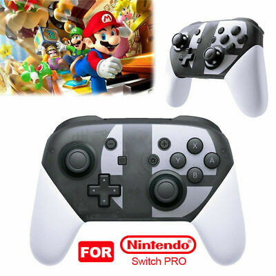 Wireless BT Pro Controller Gamepad For Nintendo Switch Super Smash Bros X8V7S