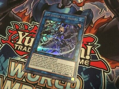 Sky Striker Ace - Shizuku MP19-EN258 1st Prismatic Secret Rare NM Yugioh Card