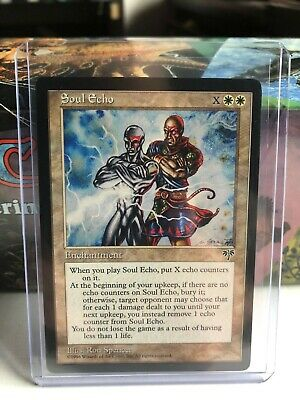 4 Soul Echo = White Mirage Mtg Magic Rare 4x x4