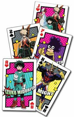 *NEW* My Hero Academia: Hero Costume Group Playing Cards by GE Animation