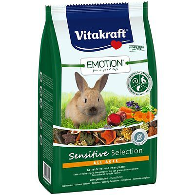 Vitakraft Emotion Sensible All Ages Lapins Nains 600 G Nourriture Lapin Lièvre