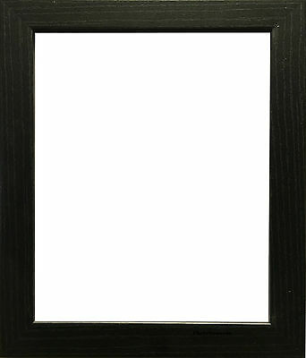 2 x Black Photo Frame Picture Frame Wooden Effect for Poster Size 36x36 inch