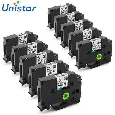 Unistar Compatible Ptouch Tapes 12mm Label Maker Tape TZe231 for Brother PT-D200