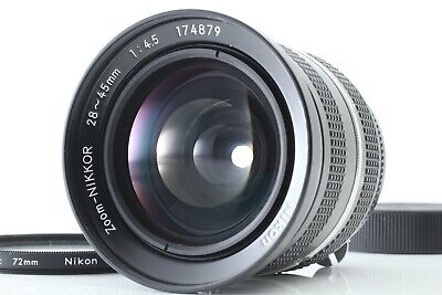 [Excellent+5] Nikon New Zoom Nikkor 28-45mm f/4.5 Wide Angle MF Lens From Japan
