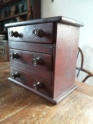 Super Little Edwardian Chest Of Drawers Miniature