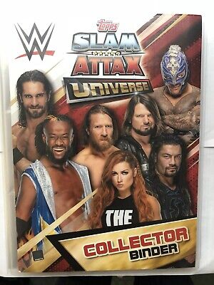 Topps WWE Slam Attax Universe,Complete Set 349 Cards + Collectors & 7 Limited