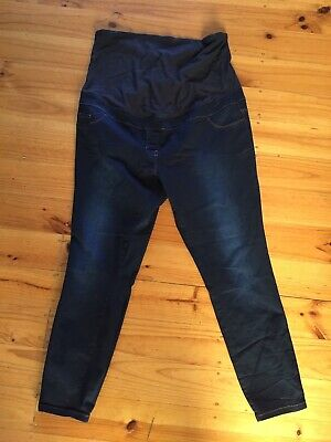 NEXT Blue Maternity Jeans Size UK 18R
