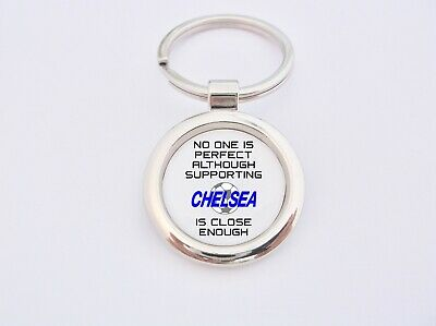 Almost Perfect Supporting Chelsea Key Fob Bottle Opener Keyring Badge Gift