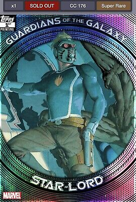 Topps Marvel Collect Star Lord Guardians Of The Galaxy Award