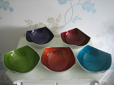 Seaside Bowl - Recycled Aluminium with Summer Colours