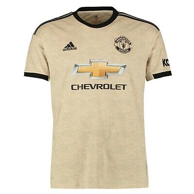 F32 Mens Large Manchester United Away Shirt 2019-20 Free New Prem badge 19/20
