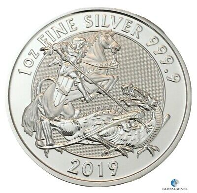 2019 1 oz silver Valiant Royal Mint .999 SILVER coin perfect condition