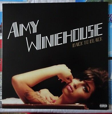 Amy Winehouse Back to Black L.P. Record Album Explicit Content