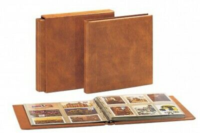 Postcard Albums Package Luxus- Saddle Tan with 10 pages