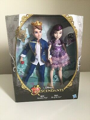 Disney Descendants - Two-Pack - Mal Isle of the Lost & Ben Auradon Prep - Dolls