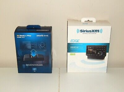 Sirius XM Edge Dock & Play Radio & Home Kit