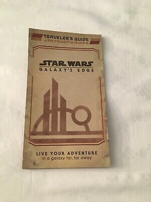 Disney Hollywood Studios Galaxy's Edge Opening Day Traveler's Guide Map NEW