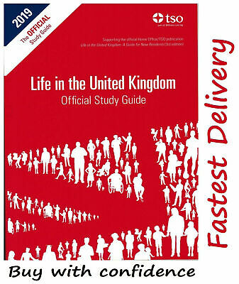 Life in the UK United Kingdom Official Study Guide 2020 Study *Std