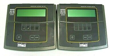 Lot of 2 YSI 5100 Dissolved Oxygen Meter, As IS