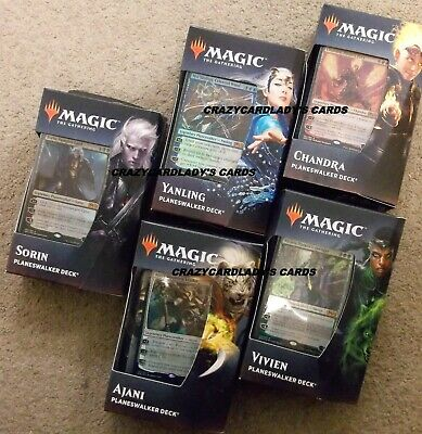 Magic The Gathering Core 2020 M20 Planeswalker Deck Set Free Priority Shipping