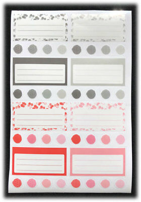 TARGET ONE Spot Lined Labels Dots Seals Stickers For Planner Addicts