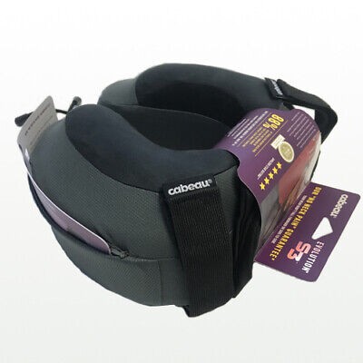 NEW Cabeau Evolution S3 Memory Foam Neck Travel Pillow Steel Grey RP$60 TPEP2979