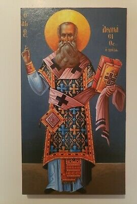 Saint Athanasius the Great, Orthodox Icon, Size 5, 14/16 x 10, 8/16 inches
