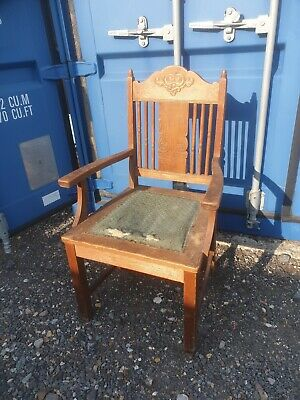 Arts And Crafts Carver Chair shabby chic vintage