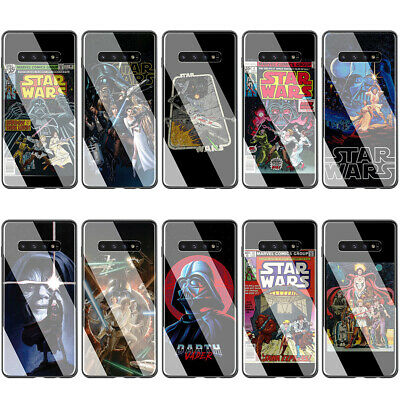 Star Wars Comic Case for Samsung Galaxy S10 S9 S8 Plus Note 9 8 A20 A50 A70