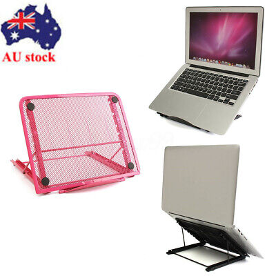 AU Portable Laptop Desk Lap Tray Bed Notebook Adjustable Foldable Table Stand