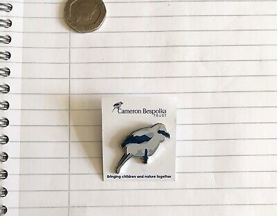 Cameron Belspoka Trust Not RSPB Pin Badge