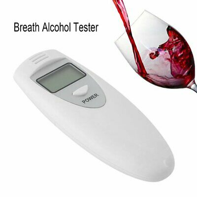 New Portable MINI Digital LCD Alcohol Breath Tester Analyzer Breathalyzer TU