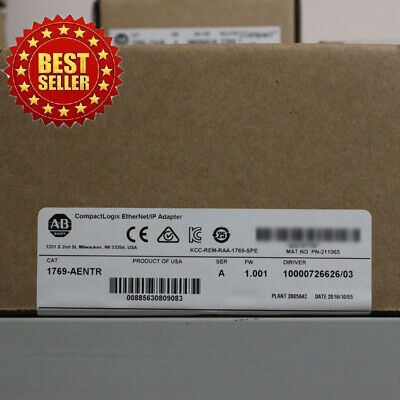 2018/2019 Allen-Bradley 1769 Ethernet/IP Adapter 1769-AENTR  USA STOCK Perfect