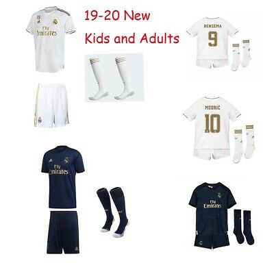 19-20 Football Sportwear Kids and Adults Custom Soccer Jerseys Home Away Outfits