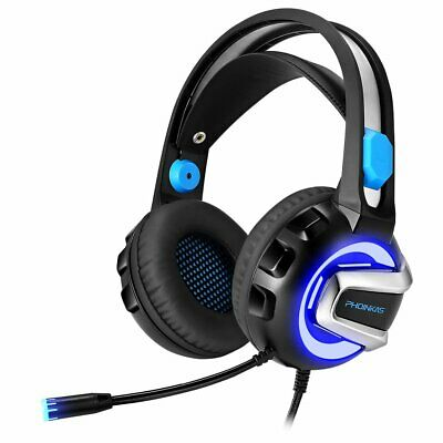 3.5mm H4 Gaming Headset MIC LED Surround Headphones for PC Laptop PS4 Xbox One