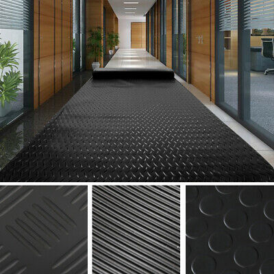 Checker Coin Ribbed Corrugated Floor