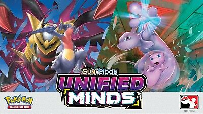Pokemon TCG # Unified Minds Assorted Cards & Rarities - More Cards In Store - JS