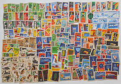 More Than 200 Czechoslovakian Matchbox Labels from 1961 2.