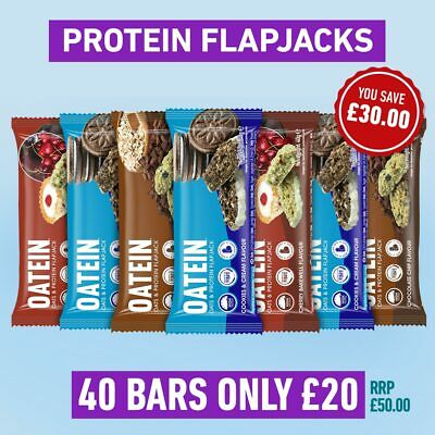 Oatein Protein Flapjack (40 x 40g) - Cherry Bakewell