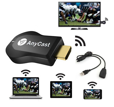 senza fili Wi-Fi anycast video Display Miracast tv dongle Ricevitore M2 Airplay