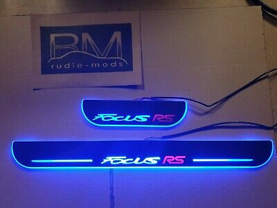 Moving LED Door Sills for Focus RS 3dr
