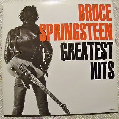 "Bruce Springsteen ""Greatest Hits"" Double Lp Rare First Edition 1995 Col478555"