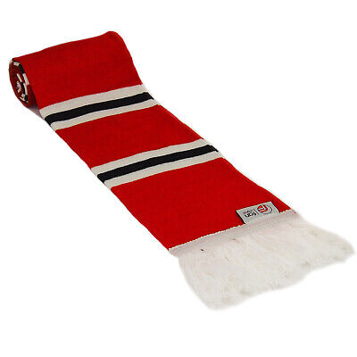 fan originals Retro Football Bar Scarf Manchester United Colours Red White Black
