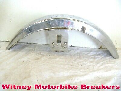 "CHROMED FRONT MUD GUARD CLASSIC FENDER MUDGUARD MIGHT/NOT 18/19"" WHEEL 70s 80s"