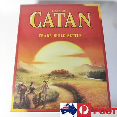 Trade Build Settle Base Catan 5th Board Game Party School Holiday Gift